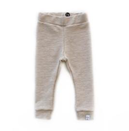 Little & Cool | Legging rib zand