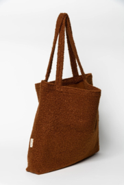 Studio Noos | Cacao bouclé mom-bag