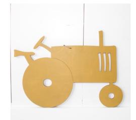 Verslingerd aan Hout | Wandhanger Tractor klein