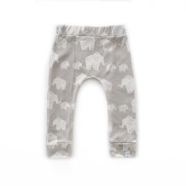 Little & Cool | Broekje olifant grey