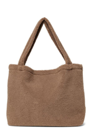 Studio Noos | Brown chunky teddy mom-bag