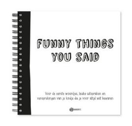 Oh my Goody | Uitsprakenboekje 'Funny Things You Said'