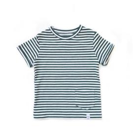 Little & Cool | Shirt Streepje groen