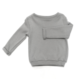 FUIF! | Sweater knitted light grey