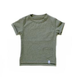 Little & Cool | Shirt groen