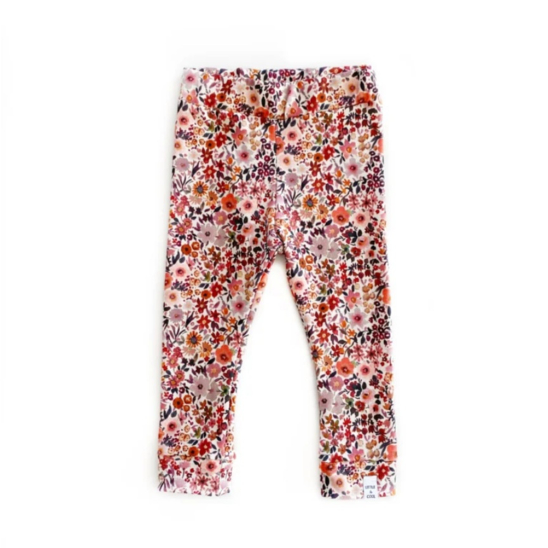 Little & Cool | Legging Flowers