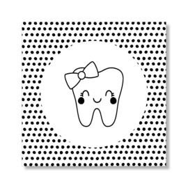 Tandenpost strik