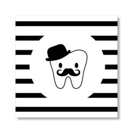 Tandenpost snor