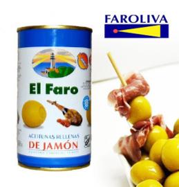 El Faro Rellena jamón 370ml
