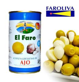 El Faro Rellena ajo 370ml