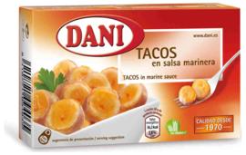 Dani tacos calamar salsa marinera 68g