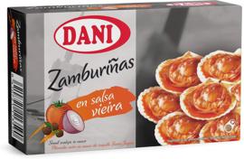 Dani zamburiña salsa vieira OL120 106g