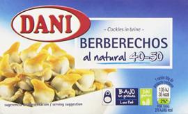 Dani berberechos OL120 63g