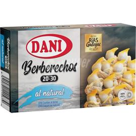 Dani berberechos 20/30 OL120 63g