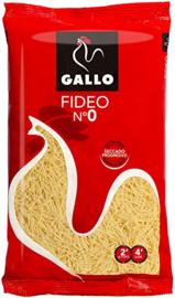 Gallo fideo no. 0 250g