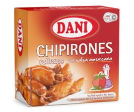Dani chipirón salsa americana RO160FA 96g
