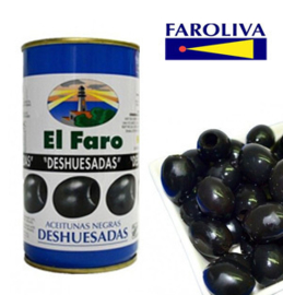El Faro Negra sin hueso 370ml