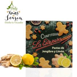 La Estepeña pastas jengibre-limón 100g