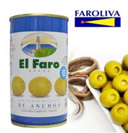 El Faro Rellena anchoa 370ml