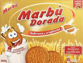 Galleta Marbú dorada