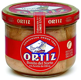 Ortiz Bonito aceite oliva RO260 150g