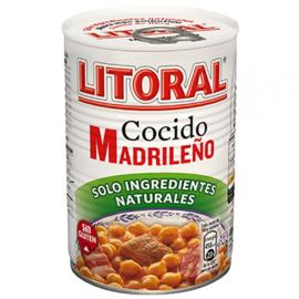 Litoral Cocido Madrileño 440g