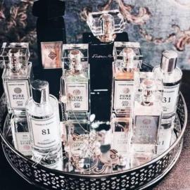 parfumflesjes met nummers
