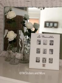 La Famille fotolijst