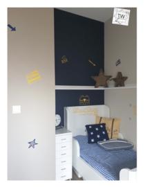 Slaapkamer stickers