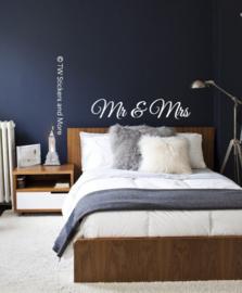 MR & MRS (lettertype naar keuze)