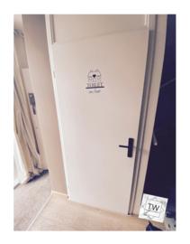 Toilet deur in/out (huisje naar keuze)