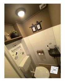 Toilet doodles 3 (huisje naar keuze)