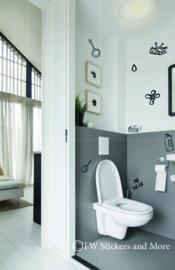 Toilet doodles