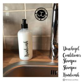 Douchegel, Conditioner 2 x Shampoo en Handwash (Set van 5)