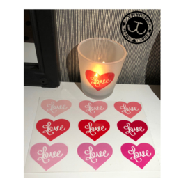 9 Love stickers