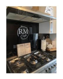 RM Café met 2 gewenste letters