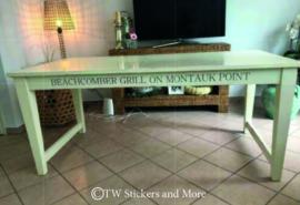 BEACHCOMBER tafel