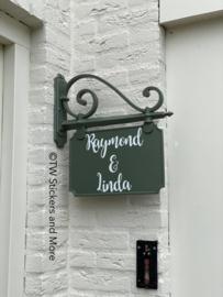 Naam sticker (lettertype naar keuze)