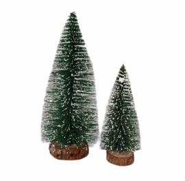 Kerst-collectie Aanvulling groene kerstboom 5x
