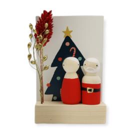 """Cadeaudoosje Kerst """"Kerstboom"""""""