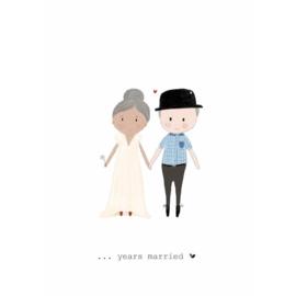 YEARS MARRIED - Nadine Illustraties