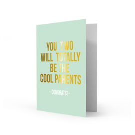 Greeting card cool parents - Studio Stationery