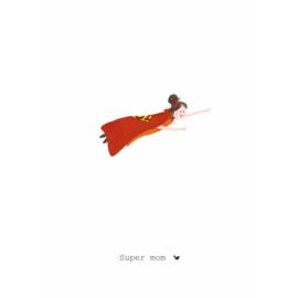 SUPER MOM - Nadine Illustraties
