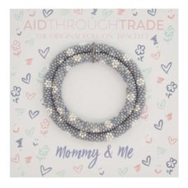 Mommy & Me Roll-On® Bracelets Daisy