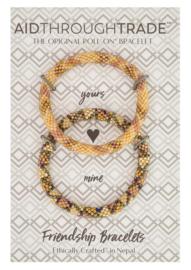 Roll-On® Friendship Bracelets Butterscotch