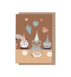 Lorem's Birthday Greeting Card - Little Otja