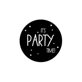 Ansichtkaart IT'S PARTY TIME rond