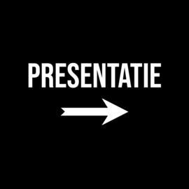 PRESENTATIE →