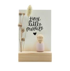 """Cadeaudoosje """"Tiny little miracle"""" jongen/meisje"""