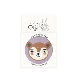 Little Otja Deer Pocket Mirror - Rendier